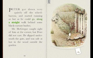 Screenshot of PopOut! Tale of Peter Rabbit