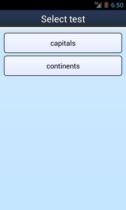 Flashcard Quiz Creator- screenshot