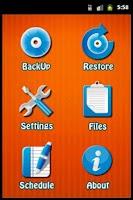 Screenshot of xBackUP