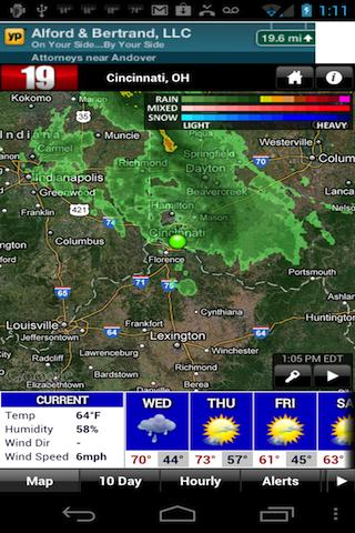 FOX19 Storm Tracker Weather - screenshot