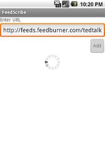 FeedScribe- screenshot thumbnail