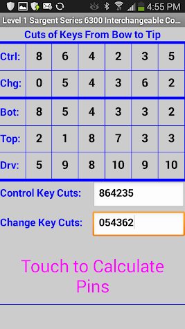 IC Core Programmer SFIC/LFIC Screenshot