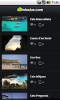 Screenshot of Menorca Travel Guide