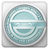 Laughing Man GO Launcher Theme