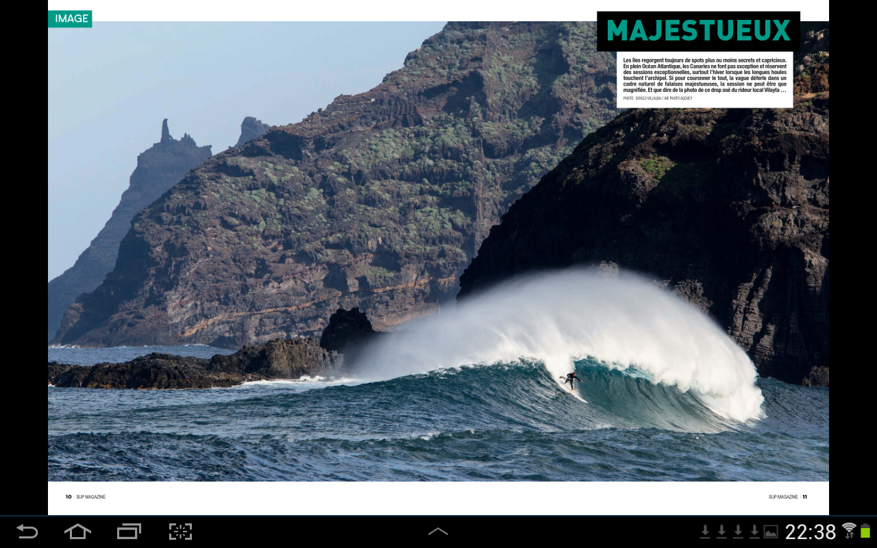 SUP Magazine- screenshot