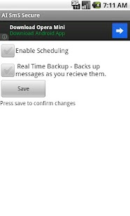 SMS Backup Scheduler & Restore- screenshot thumbnail