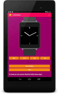 Android Wear Faces Creator Screenshot 19