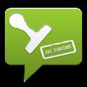 SMS Signature logo