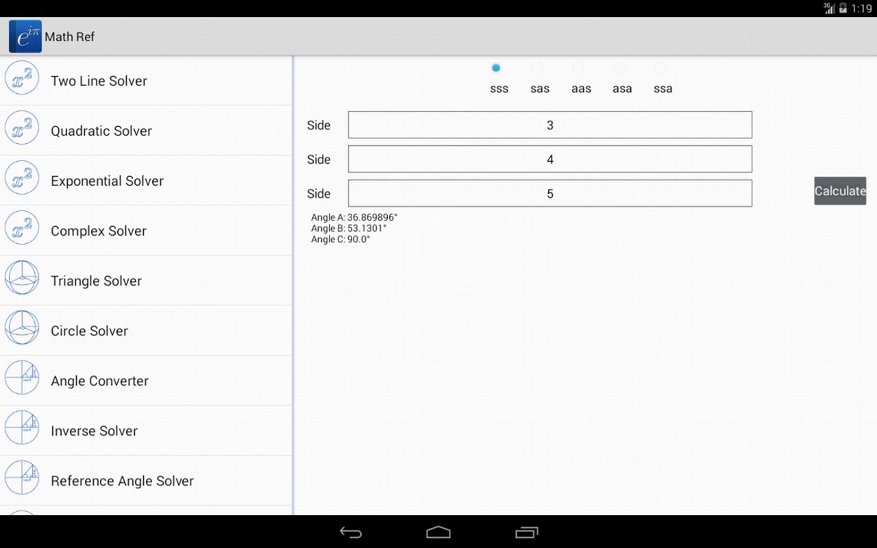 Math Ref screenshot #3