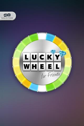 Lucky Wheel for Friends - screenshot
