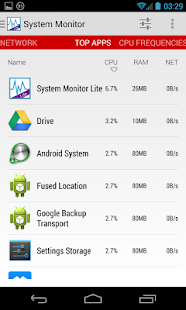System Monitor Lite - screenshot thumbnail