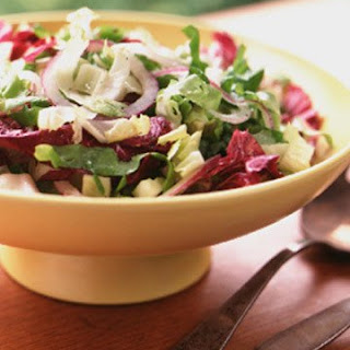 Mixed Chicories with Honey Vinaigrette