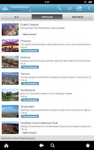 Arizona Guide by Triposo  screenshots 9