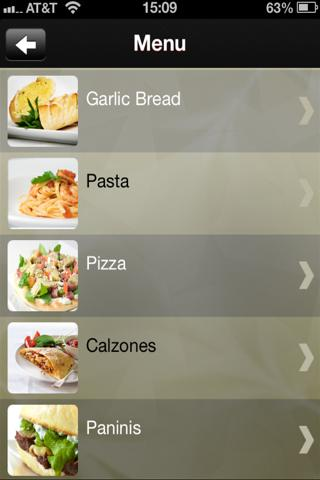 Scoozi Newbury app- screenshot