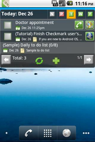 Checkmark To Do & Task List - screenshot