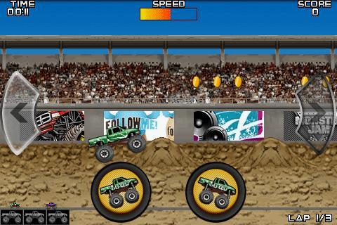 Monster Truck Muddle- screenshot