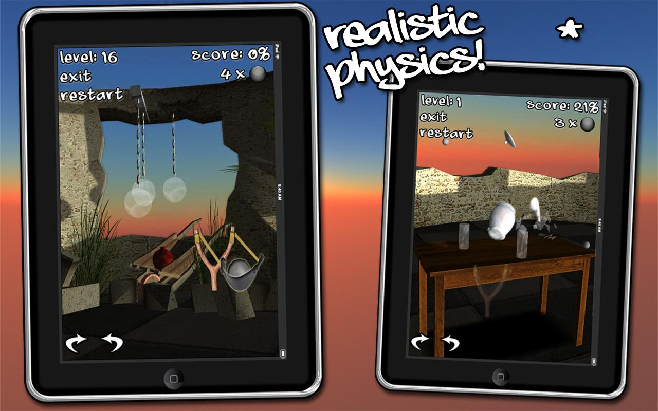 Let's Break Stuff! slingshot- screenshot