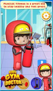 儿童健身房医生 - 儿童游戏