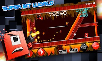 Screenshot of Super Bit World : Hardest Game