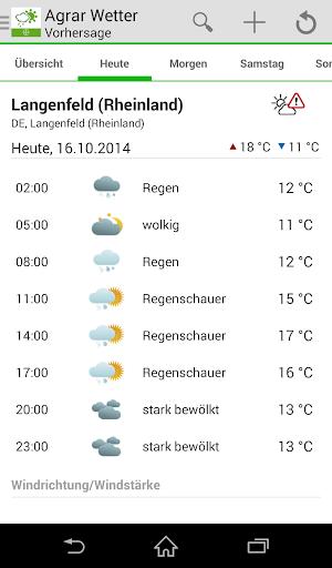 Bayer Agrar Wetter 3.75 screenshots 2