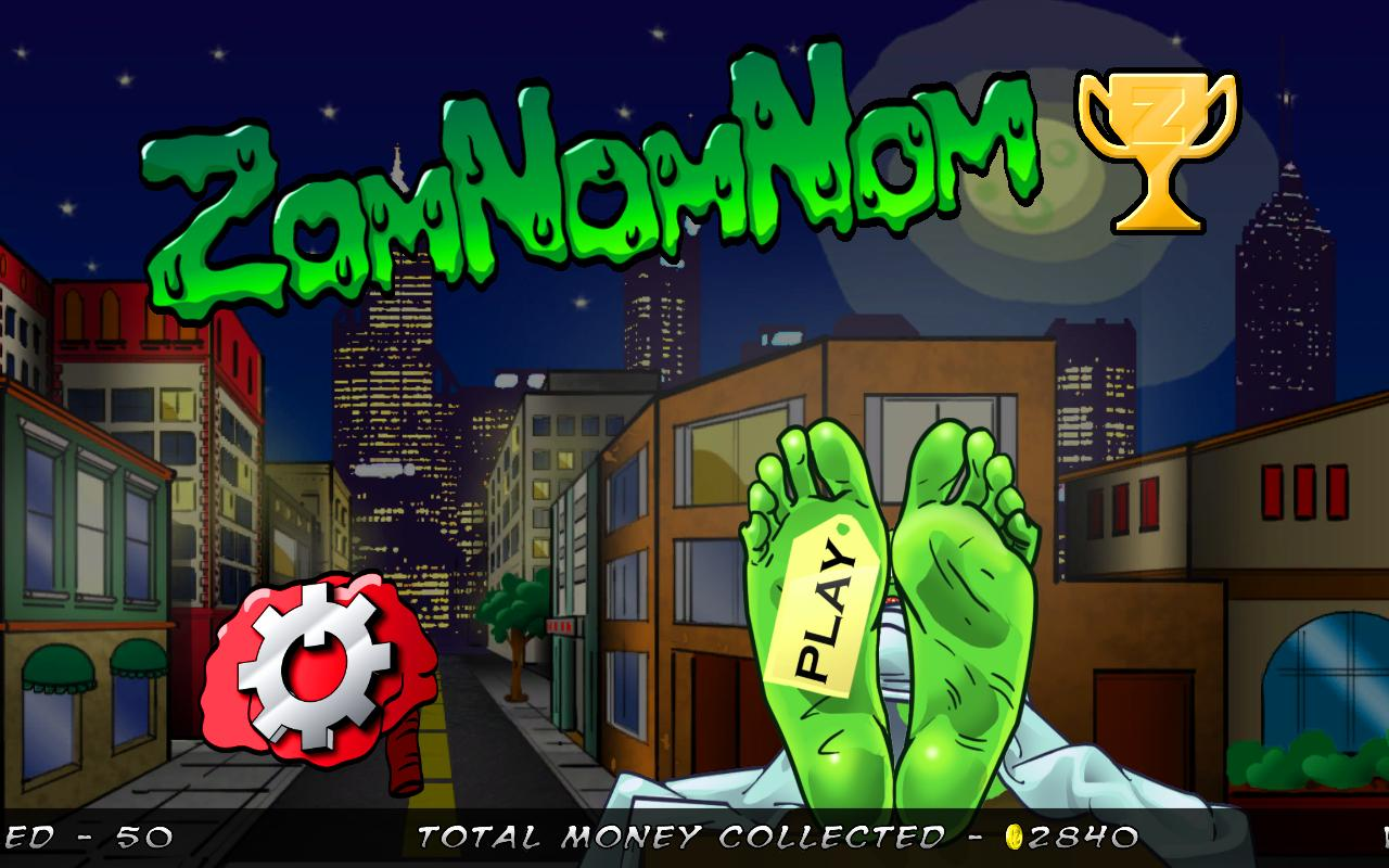 ZomNomNom - Zombie Game - screenshot