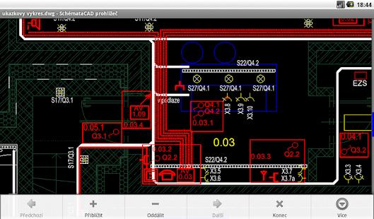 SchémataCAD prohlížeč DWG/DXF - náhled