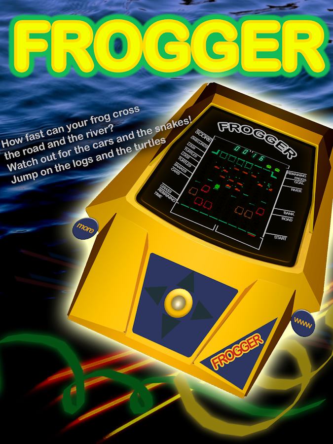 Frogger Arcade Retro Classic- screenshot