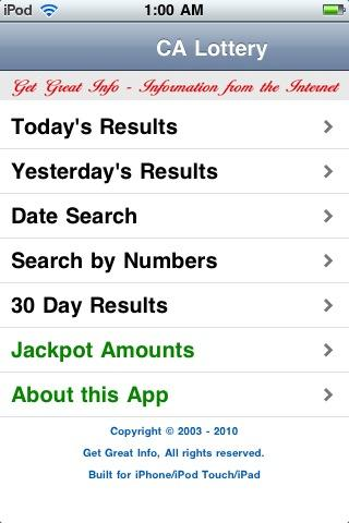 California Lottery on Google Play Reviews   Stats