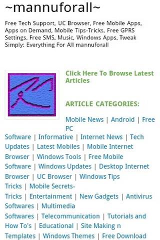 mannuforall- screenshot