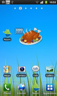 Burn the Turkey - Widget - screenshot thumbnail