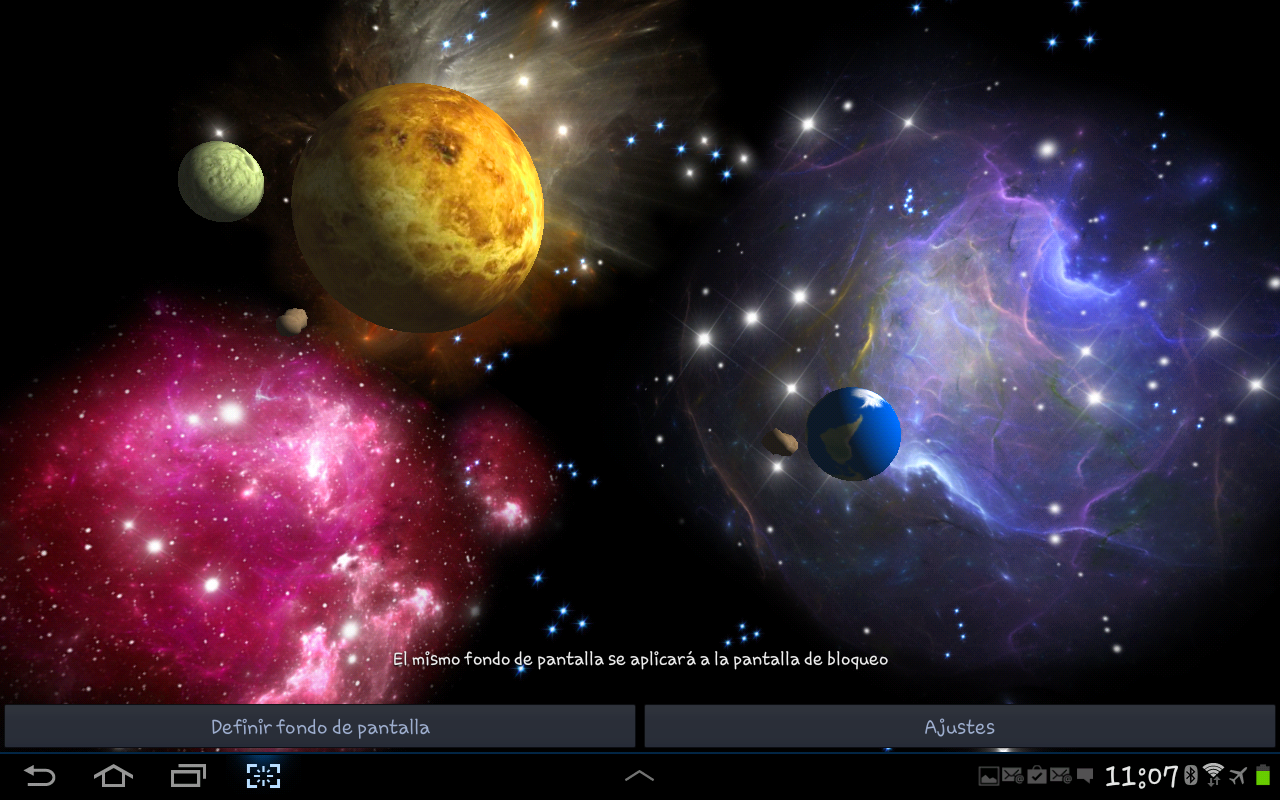 3d space live wallpaper android apps on google play for Space in 3d