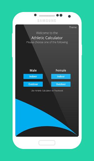 Athletic Calculator