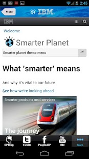 Smarter Planet 3.0 - screenshot thumbnail