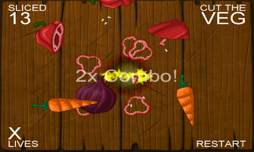 Cut the Veg. Ninja Edition - screenshot thumbnail