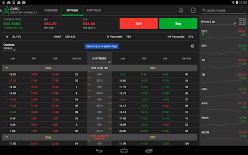 TD Ameritrade Trader - screenshot thumbnail