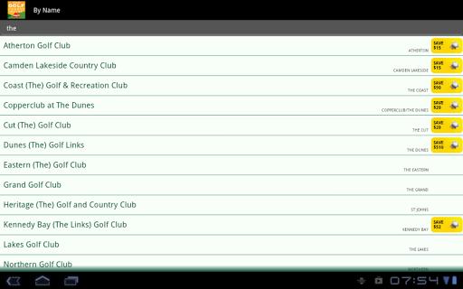 Golf Course Guide Aust Edition  screenshots 9