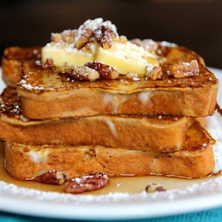 Pumpkin French Toast, gluten-free