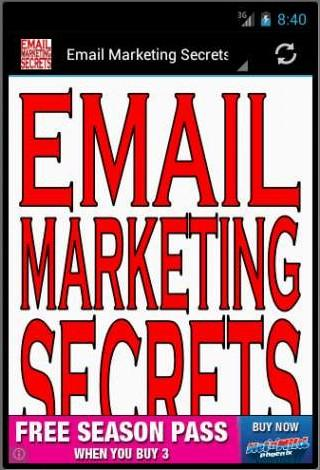 Email Marketing Secrets FREE