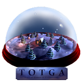 New Years 3D Snow Globe!