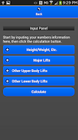 Screenshot of StrengthCalc - LEGACY Edtion