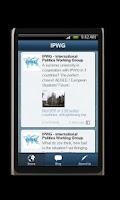 Screenshot of IPWG