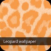 orange leopard wallpaper ver1