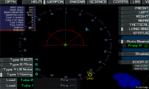 Artemis Spaceship Bridge Sim Screenshot 6