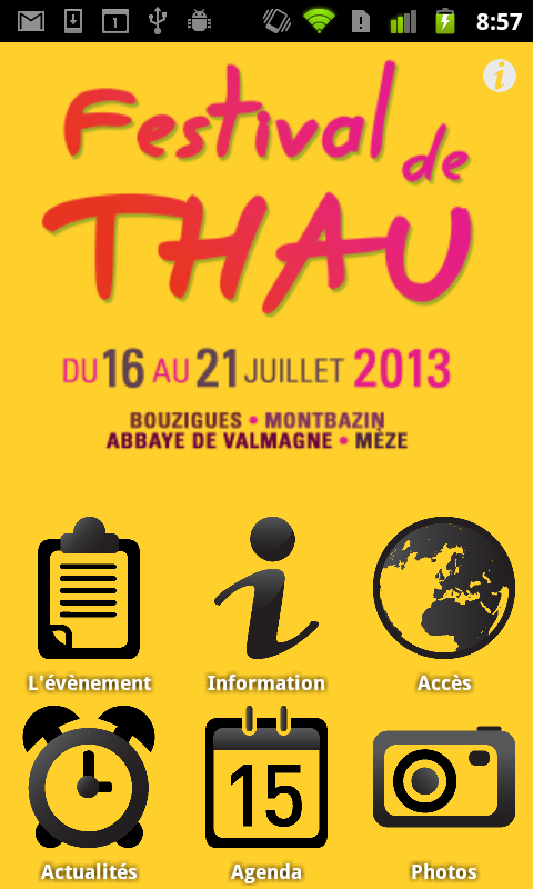 Festival de Thau - screenshot