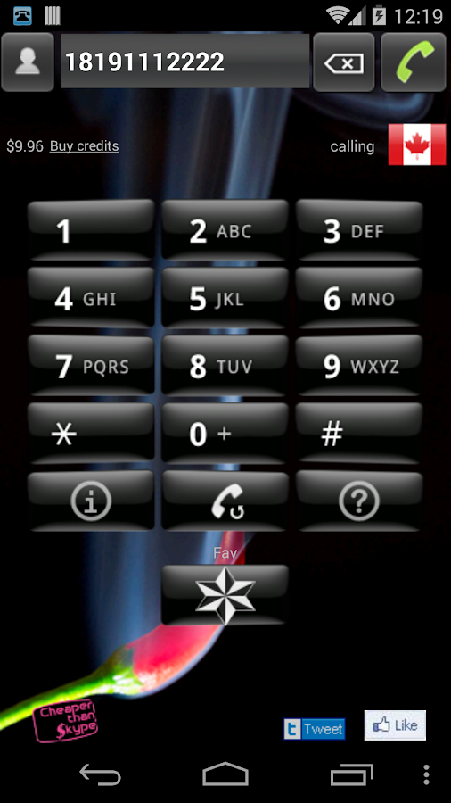 VOIP – Cheapest phone calls- screenshot