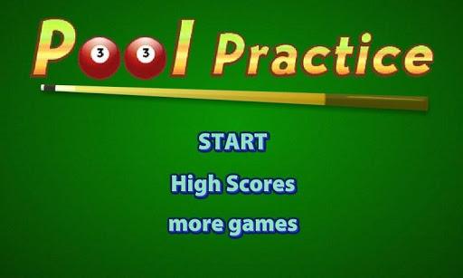 Pool Practice Free