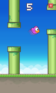 Floppy Bird Captura de pantalla 1