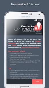 Contacts Optimizer v4.0.1