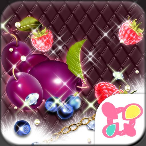 Girly Theme-Sparkle Fruits- Icon