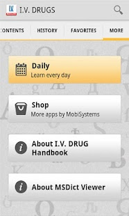 I.V. Drug Handbook - screenshot thumbnail